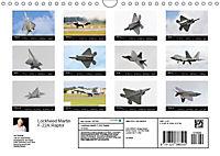Lockheed Martin F-22A Raptor (Wall Calendar 2019 DIN A4 Landscape) - Produktdetailbild 13