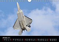 Lockheed Martin F-22A Raptor (Wall Calendar 2019 DIN A4 Landscape) - Produktdetailbild 1