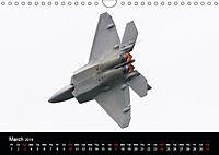 Lockheed Martin F-22A Raptor (Wall Calendar 2019 DIN A4 Landscape) - Produktdetailbild 3