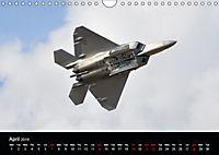 Lockheed Martin F-22A Raptor (Wall Calendar 2019 DIN A4 Landscape) - Produktdetailbild 4