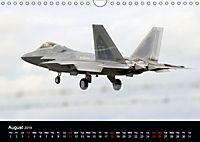 Lockheed Martin F-22A Raptor (Wall Calendar 2019 DIN A4 Landscape) - Produktdetailbild 8