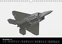 Lockheed Martin F-22A Raptor (Wall Calendar 2019 DIN A4 Landscape) - Produktdetailbild 11