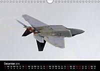 Lockheed Martin F-22A Raptor (Wall Calendar 2019 DIN A4 Landscape) - Produktdetailbild 12