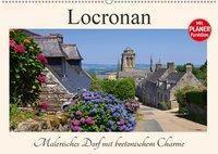 Locronan - Malerisches Dorf mit bretonischem Charme (Wandkalender 2019 DIN A2 quer), k.A. LianeM
