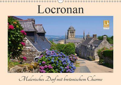 Locronan - Malerisches Dorf mit bretonischem Charme (Wandkalender 2019 DIN A3 quer), LianeM