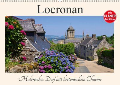 Locronan - Malerisches Dorf mit bretonischem Charme (Wandkalender 2019 DIN A2 quer), LianeM