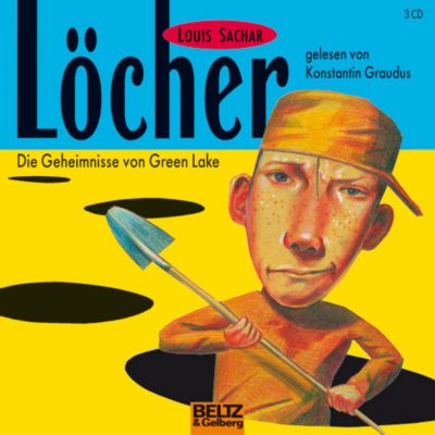 Löcher, 1 Audio-CD, Louis Sachar