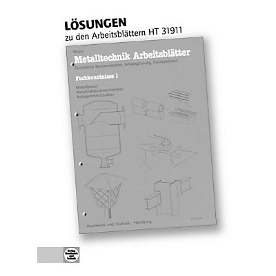 l sungen metalltechnik arbeitsbl tter buch portofrei. Black Bedroom Furniture Sets. Home Design Ideas