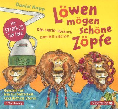 Löwen mögen schöne Zöpfe, 2 Audio-CDs, Daniel Napp