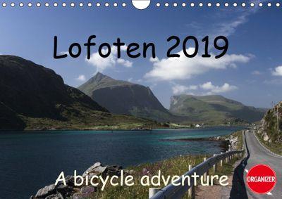 Lofoten 2019 A bike adventure (Wall Calendar 2019 DIN A4 Landscape), Lille Ulven Photography - Wiebke Schroeder