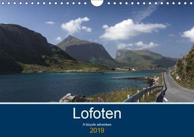 Lofoten - A bicycle adventure (Wall Calendar 2019 DIN A4 Landscape), Lille Ulven Photography - Wiebke Schroeder