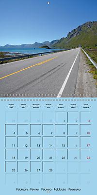 LOFOTEN a photographic journey (Wall Calendar 2019 300 × 300 mm Square) - Produktdetailbild 2