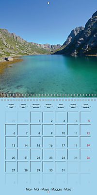 LOFOTEN a photographic journey (Wall Calendar 2019 300 × 300 mm Square) - Produktdetailbild 5