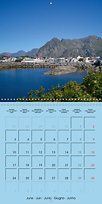 LOFOTEN a photographic journey (Wall Calendar 2019 300 × 300 mm Square) - Produktdetailbild 6
