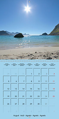 LOFOTEN a photographic journey (Wall Calendar 2019 300 × 300 mm Square) - Produktdetailbild 8