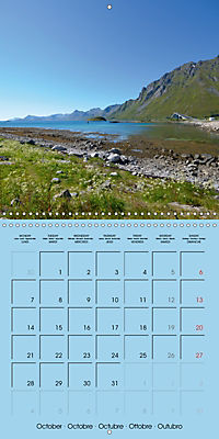 LOFOTEN a photographic journey (Wall Calendar 2019 300 × 300 mm Square) - Produktdetailbild 10