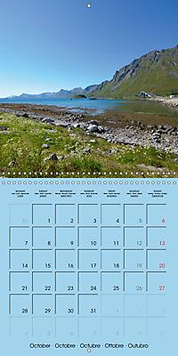 LOFOTEN a photographic journey (Wall Calendar 2019 300 × 300 mm Square) - Produktdetailbild 10
