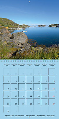 LOFOTEN a photographic journey (Wall Calendar 2019 300 × 300 mm Square) - Produktdetailbild 9