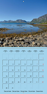 LOFOTEN a photographic journey (Wall Calendar 2019 300 × 300 mm Square) - Produktdetailbild 12