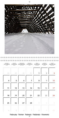 Lofoten Miracle at the Arctic Circle (Wall Calendar 2019 300 × 300 mm Square) - Produktdetailbild 2