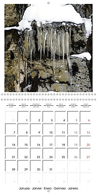 Lofoten Miracle at the Arctic Circle (Wall Calendar 2019 300 × 300 mm Square) - Produktdetailbild 1