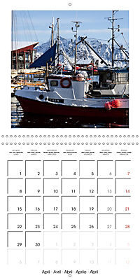 Lofoten Miracle at the Arctic Circle (Wall Calendar 2019 300 × 300 mm Square) - Produktdetailbild 4