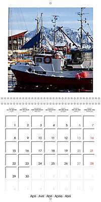 Lofoten Miracle at the Arctic Circle (Wall Calendar 2019 300 × 300 mm Square) - Produktdetailbild 4