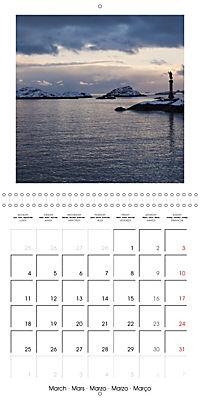 Lofoten Miracle at the Arctic Circle (Wall Calendar 2019 300 × 300 mm Square) - Produktdetailbild 3