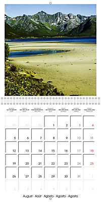 Lofoten Miracle at the Arctic Circle (Wall Calendar 2019 300 × 300 mm Square) - Produktdetailbild 8