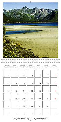 Lofoten Miracle at the Arctic Circle (Wall Calendar 2019 300 × 300 mm Square) - Produktdetailbild 8