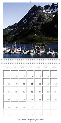 Lofoten Miracle at the Arctic Circle (Wall Calendar 2019 300 × 300 mm Square) - Produktdetailbild 7