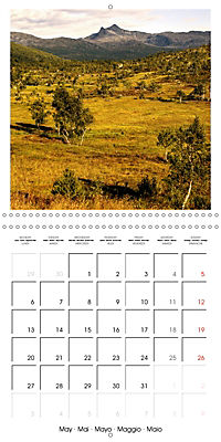 Lofoten Miracle at the Arctic Circle (Wall Calendar 2019 300 × 300 mm Square) - Produktdetailbild 5