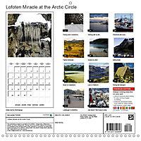 Lofoten Miracle at the Arctic Circle (Wall Calendar 2019 300 × 300 mm Square) - Produktdetailbild 13