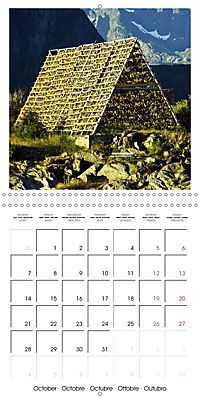 Lofoten Miracle at the Arctic Circle (Wall Calendar 2019 300 × 300 mm Square) - Produktdetailbild 10