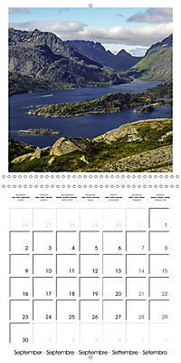 Lofoten Miracle at the Arctic Circle (Wall Calendar 2019 300 × 300 mm Square) - Produktdetailbild 9