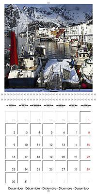 Lofoten Miracle at the Arctic Circle (Wall Calendar 2019 300 × 300 mm Square) - Produktdetailbild 12
