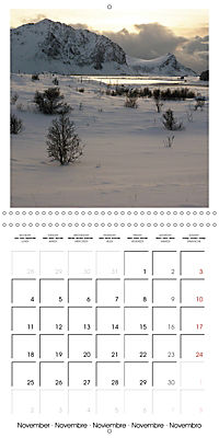 Lofoten Miracle at the Arctic Circle (Wall Calendar 2019 300 × 300 mm Square) - Produktdetailbild 11