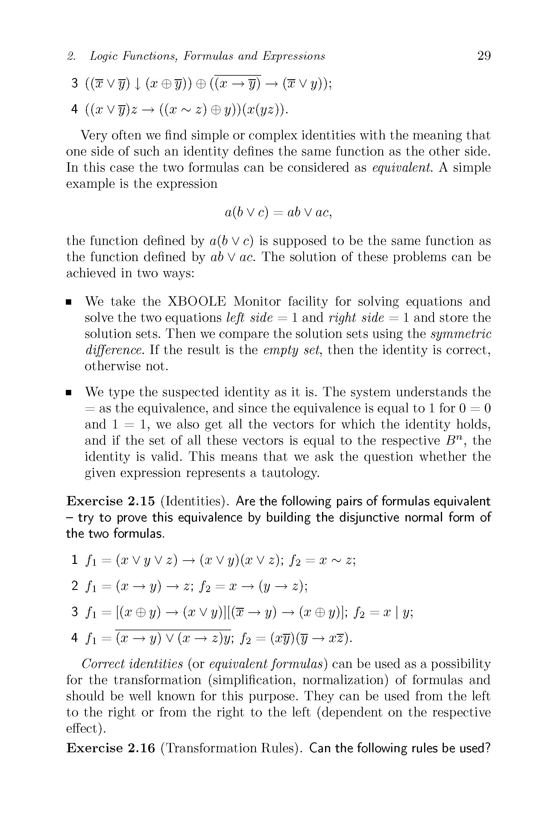 logic functions and equations steinbach bernd posthoff christian