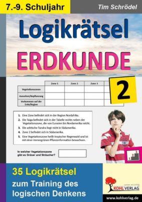 Logikrätsel Erdkunde / Band 2, Tim Schrödel