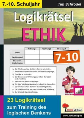Logikrätsel Ethik 7-10, Tim Schrödel