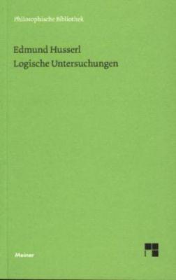 Logische Untersuchungen, Edmund Husserl