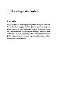 Logistik - Produktdetailbild 1