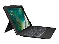 LOGITECH SLIM COMBO with detachable keyboard + Smart Connector f. iPad Pro 26,7cm / 10.5 inch CLASSIC BLUE (DE) - Produktdetailbild 1