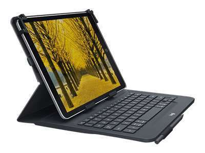 LOGITECH Universal Folio with integrated keyboard for 23 - 25,5cm / 9-10 inch tablets (DE)