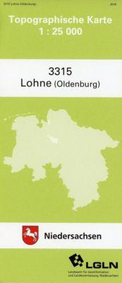 Lohne (Oldenb.) 1 : 25 000. (TK 3315/N) -  pdf epub
