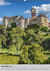 LOKET UND EGER Zwei idyllische Orte in Westböhmen (Wandkalender 2018 DIN A2 hoch) - Produktdetailbild 11