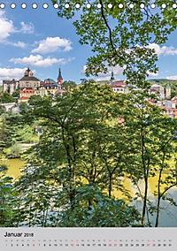 LOKET UND EGER Zwei idyllische Orte in Westböhmen (Tischkalender 2018 DIN A5 hoch) - Produktdetailbild 1