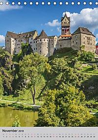 LOKET UND EGER Zwei idyllische Orte in Westböhmen (Tischkalender 2018 DIN A5 hoch) - Produktdetailbild 11