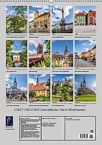 LOKET UND EGER Zwei idyllische Orte in Westböhmen (Wandkalender 2019 DIN A2 hoch) - Produktdetailbild 13