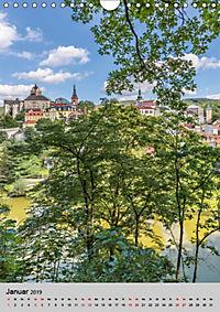 LOKET UND EGER Zwei idyllische Orte in Westböhmen (Wandkalender 2019 DIN A4 hoch) - Produktdetailbild 1
